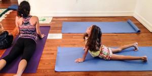 Yoga 4 Youth Children Posing